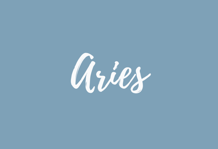 aries name meaning