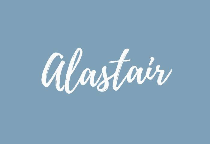 alastair name meaning