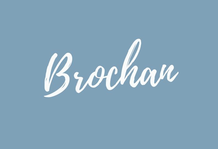 Brochan name meaning