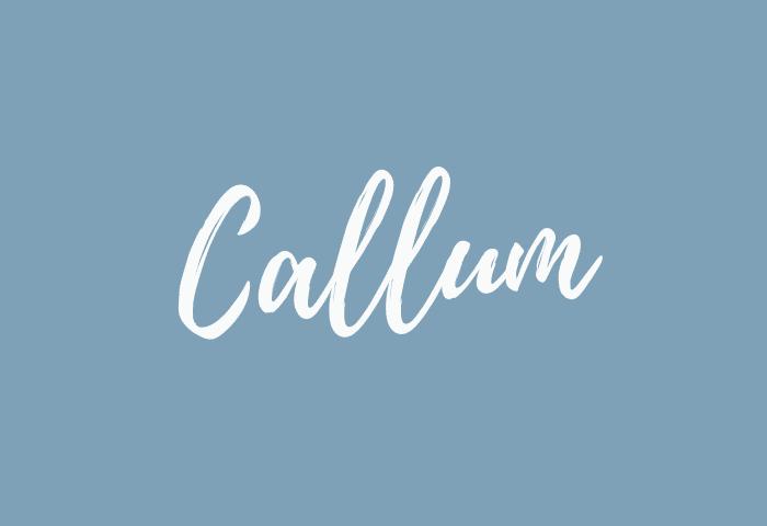 Callum name meaning
