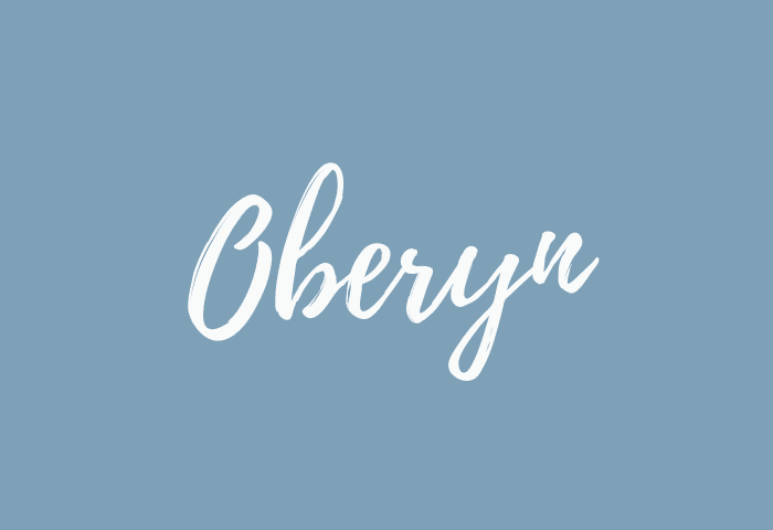 oberyn name meaning