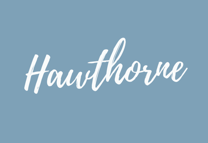 Hawthorne name meaning
