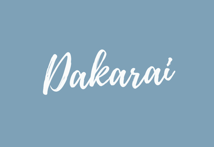 Dakarai name meaning