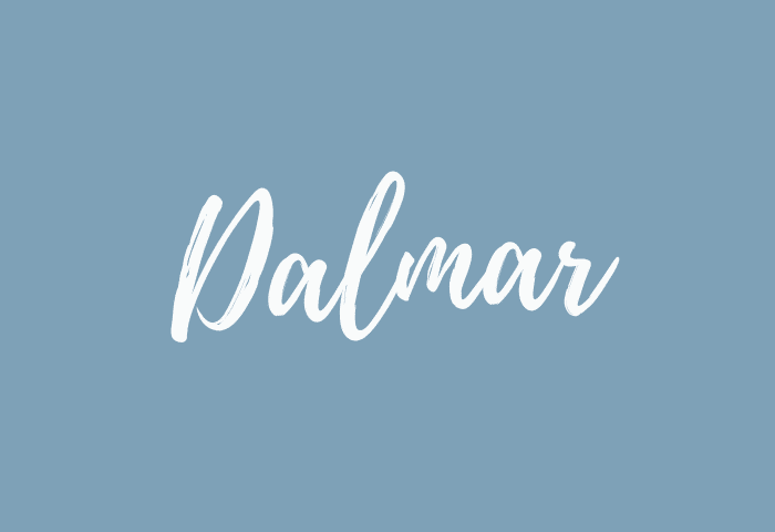 Dalmar name meaning