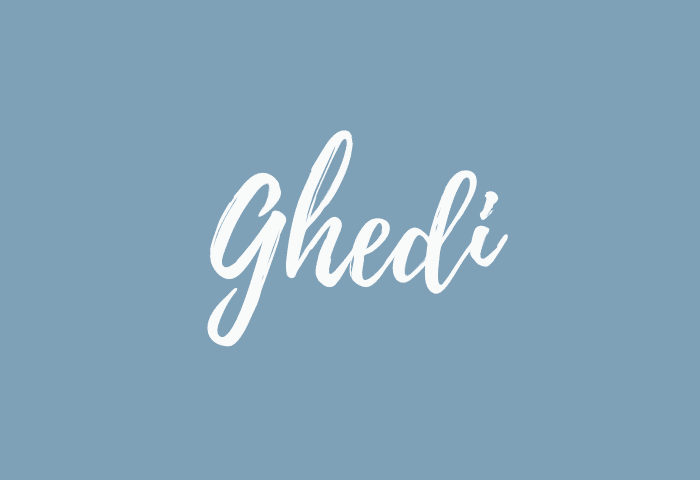 ghedi name meaning