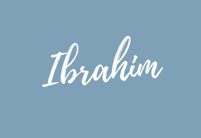 Ibrahim name meaning