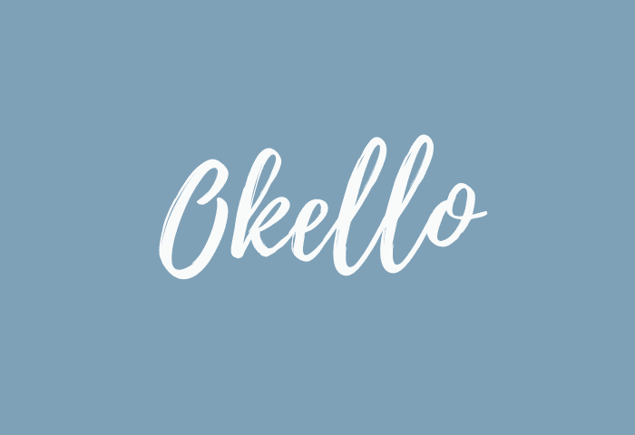 okello name meaning