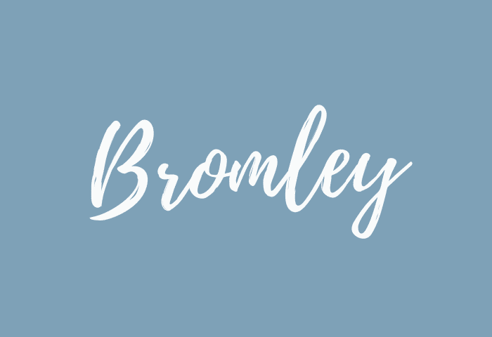 Bromley name meaning