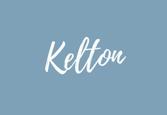 Kelton name meaning
