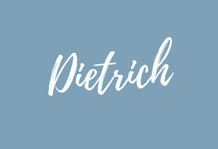 Dietrich name meaning
