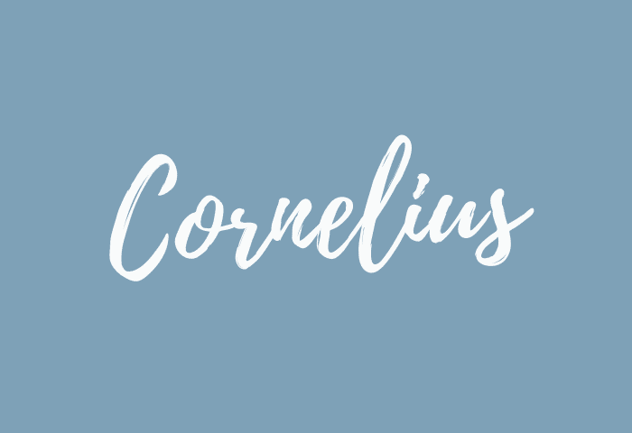 Cornelius name meaning