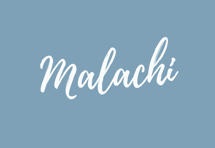 Malachi name meaning