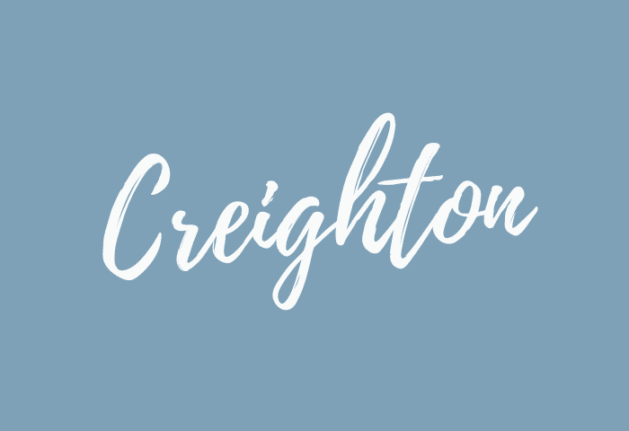 creighton name meaning