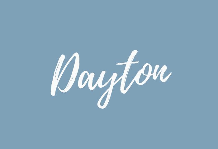 Dayton name meaning