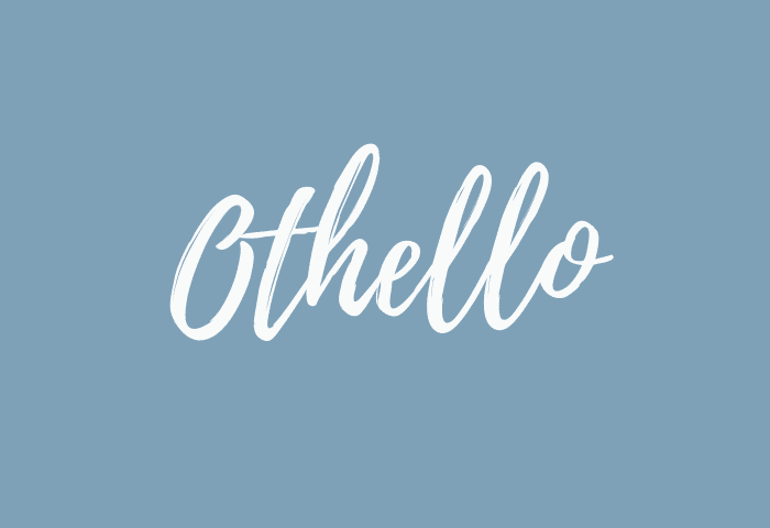 Othello name meaning