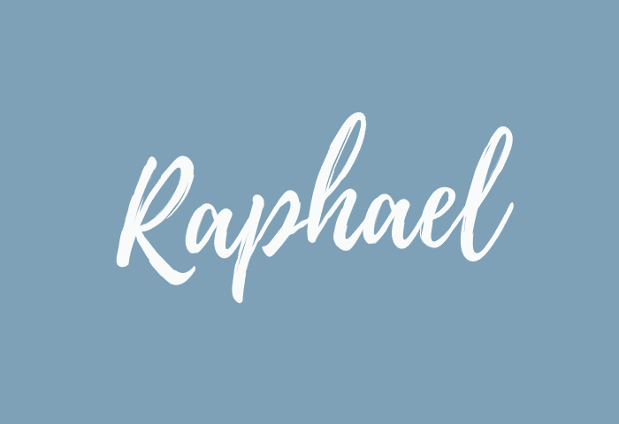 Raphael name meaning