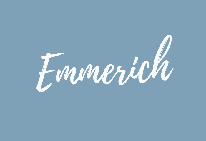 emmerich name meaning
