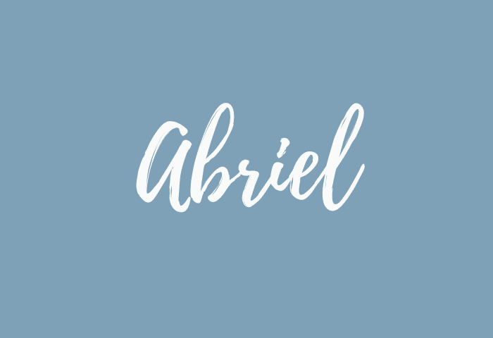 abriel name meaning