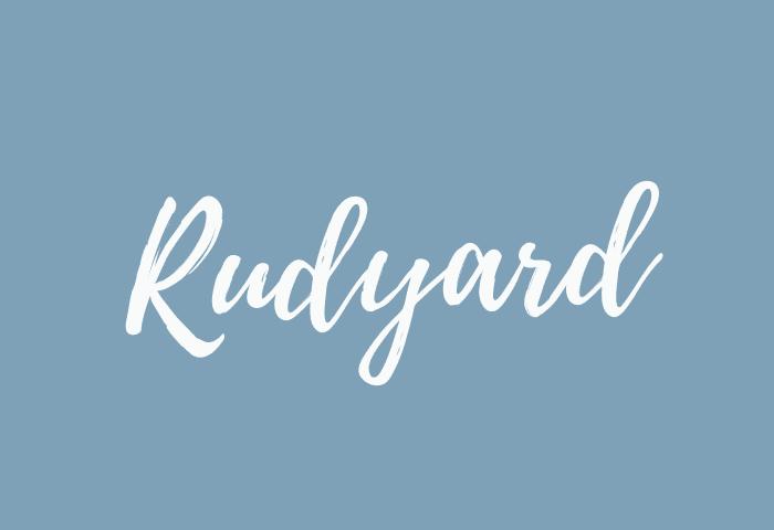 Rudyard name meaning