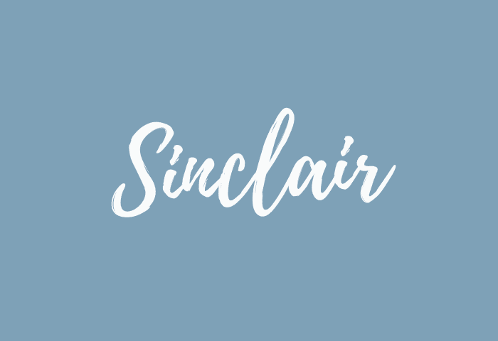 Sinclair name meaning