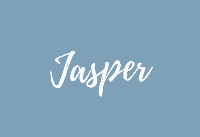 jasper name meaning