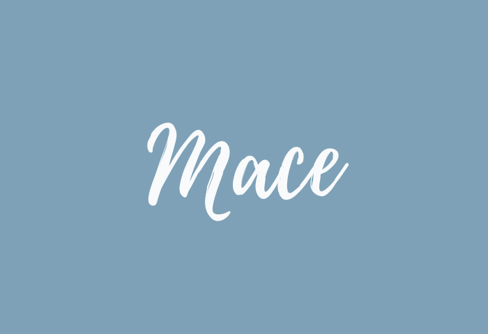 mace name meaning