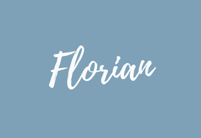 Florian name meaning
