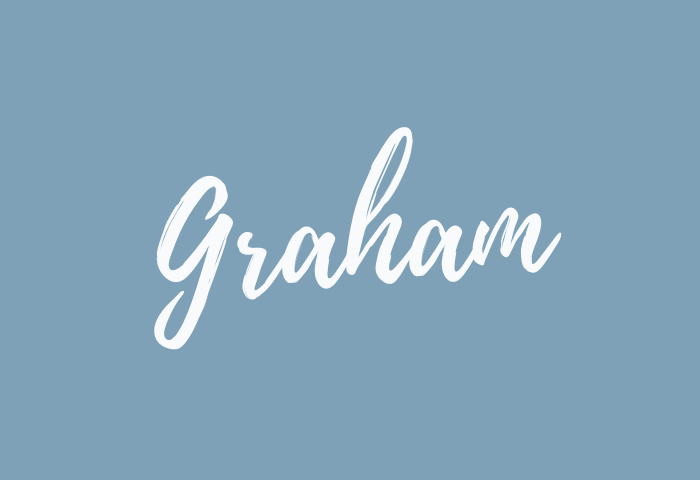 graham name meaning