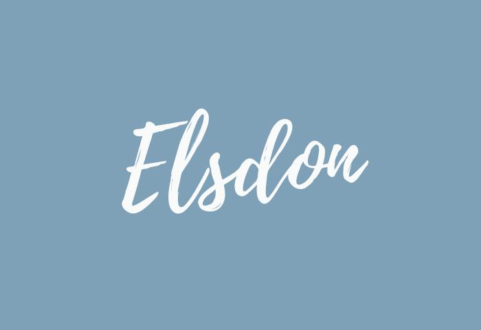 Elsdon name meaning