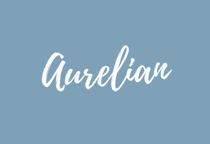 aurelian name meaning