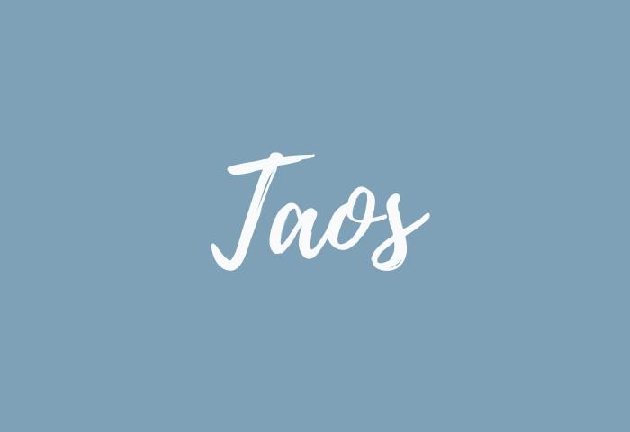 Taos name meaning