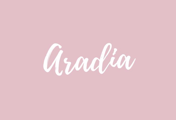 Aradia name meaning