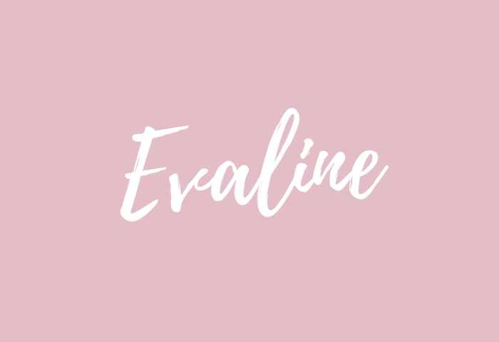 evaline name meaning