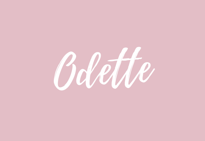 odette name meaning