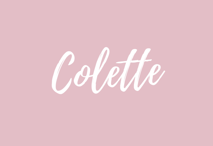 colette Name Meaning