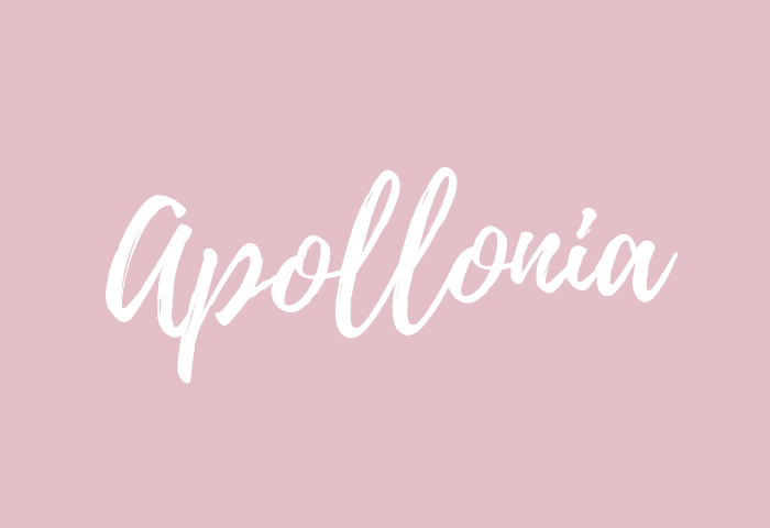 apollonia name meaning