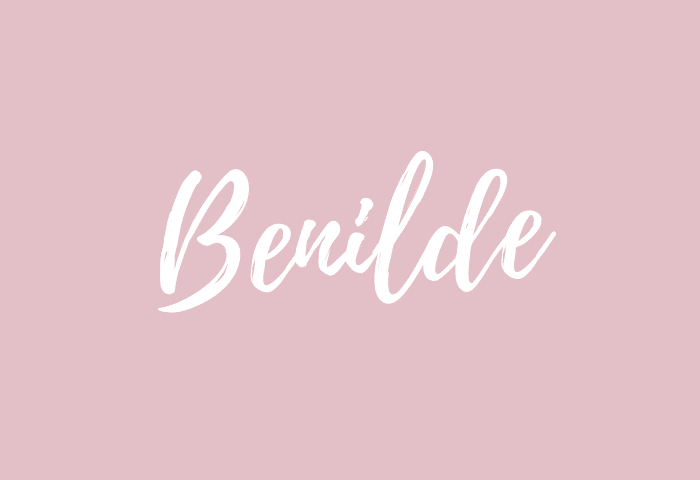 Benilde Name Meaning