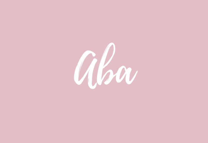 aba name meaning