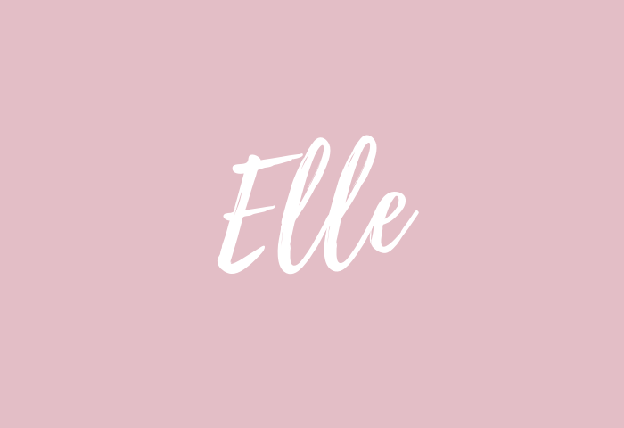 Elle Name Meaning