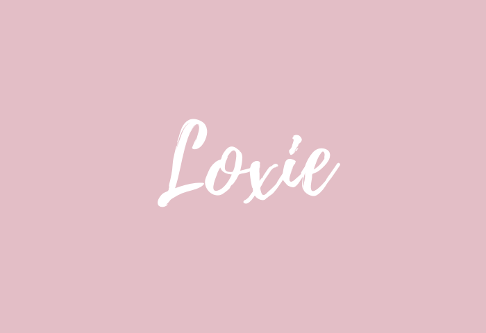 loxie name meaning