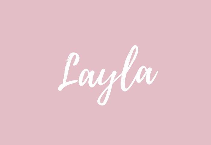 layla name meaning