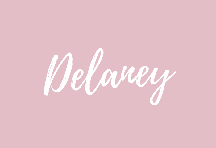 delaney name meaning