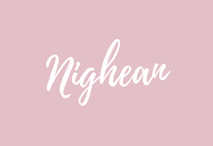 Nighean name meaning