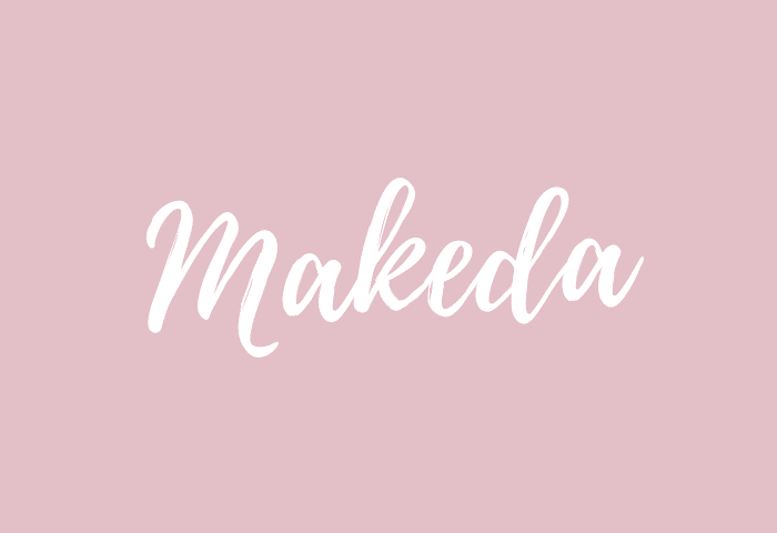 makeda name meaning