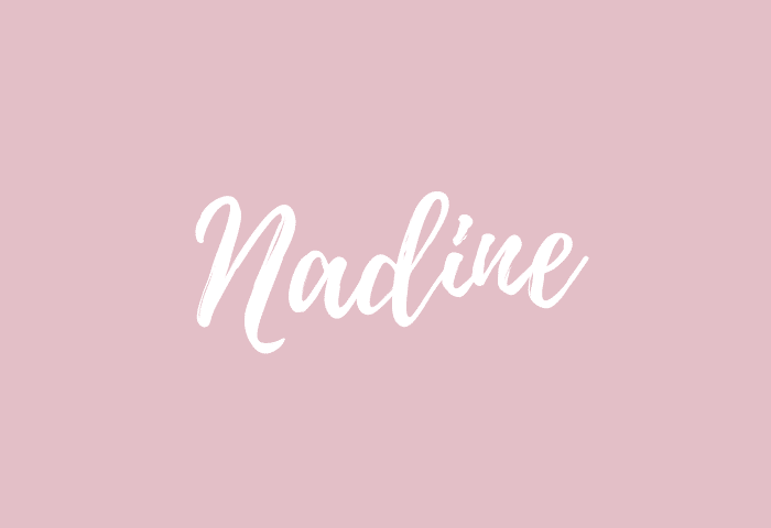 nadine name meaning