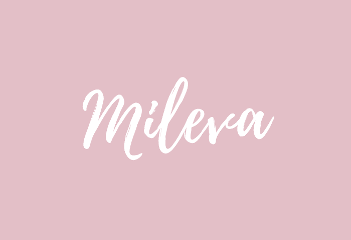 mileva name meaning