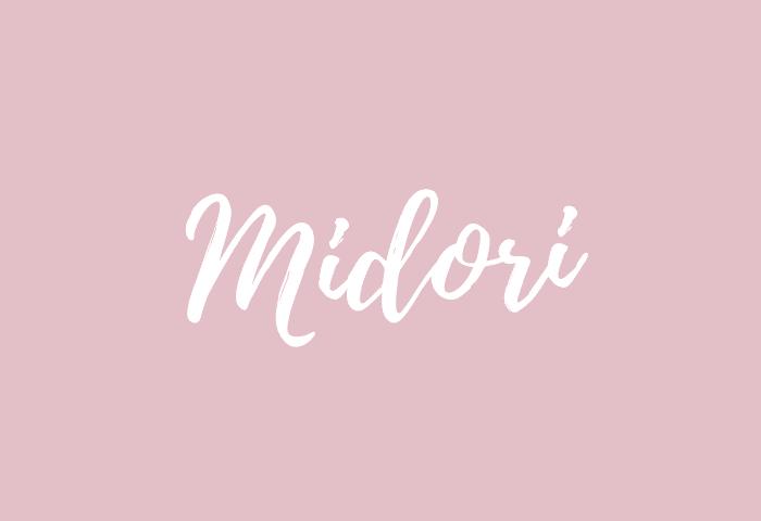 Midori name meaning
