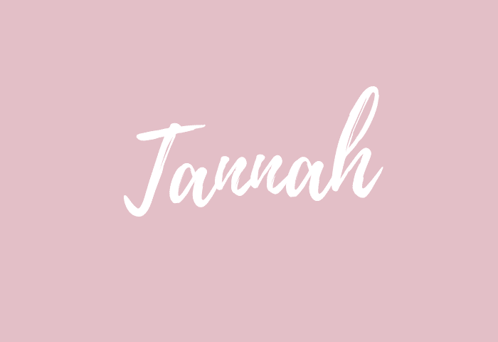 Tannah name meaning