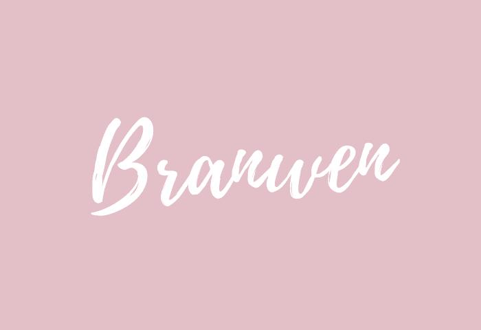 Branwen name meaning