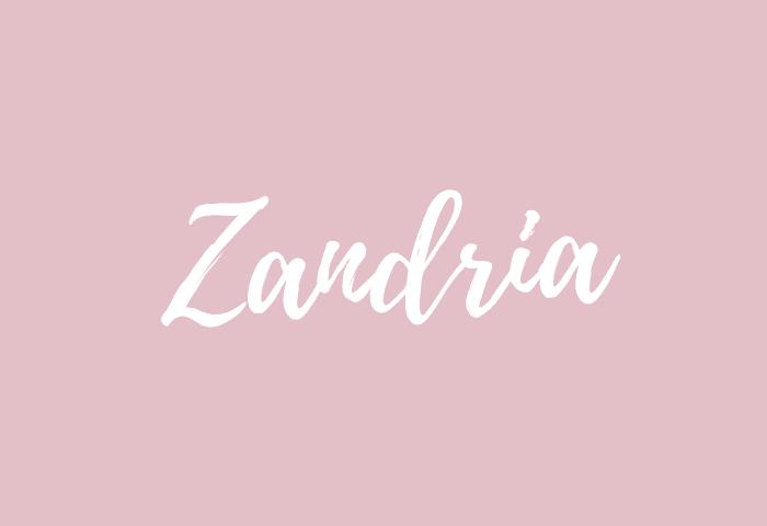 Zandria name meaning